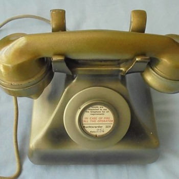 Extremely rare 1933 deco phone from Gleneagles Hotel - Art Deco