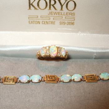 Old and New Opal Studded items - Fine Jewelry