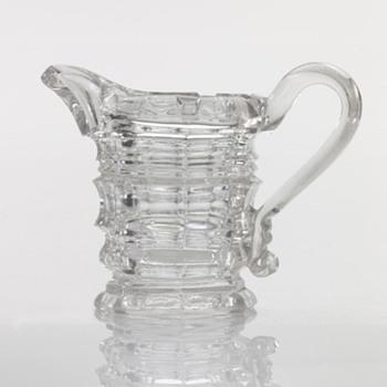Pressed Glass Creamer  - Glassware