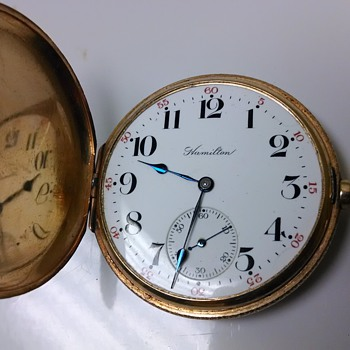 14k Hamilton  - Pocket Watches