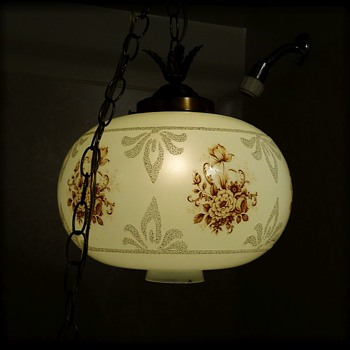 Vintage Swag Lamp - Lamps
