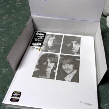 The Beatles 'White Album' reissue CD and Blu-Ray - Music Memorabilia