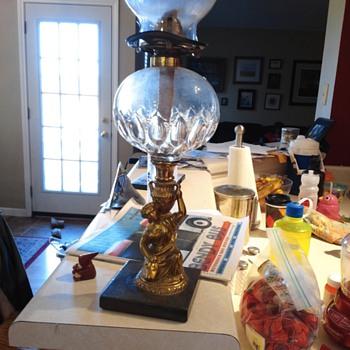 Oil Lamp~ Forgotten Gift