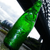 NATHAN ELSDON CONSETT  EMERALD GREEN CODD BOTTLE