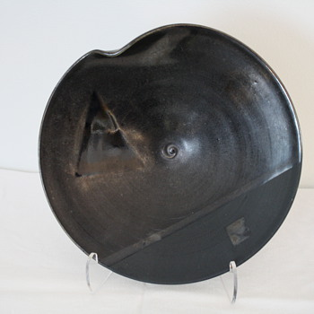 Lovely small modern art pottery bowl