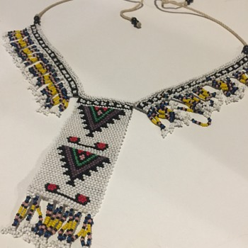 African Loom Beaded Necklace - Fine Jewelry