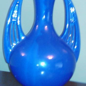 Cobalt Blue Vase - Pottery