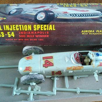 my 1958 model race car - Model Cars