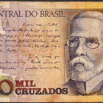 Brazil - (1000) Cruzados Bank Note
