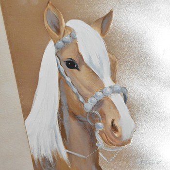 Art Oil Paintings Horses - Animals