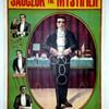 "Original ""Sauczuk The Mystifier"" Stone Lithograph Poster"