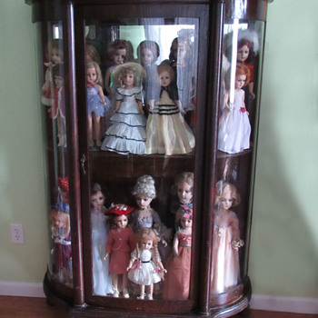Antique Curio Cabinet Larkin Co. 1900s? - Furniture