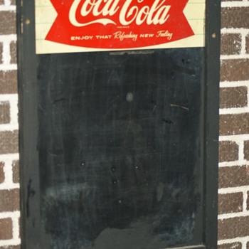 chalkboard - Coca-Cola