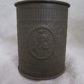 Antique Tin Drinking Cup - Kitchen
