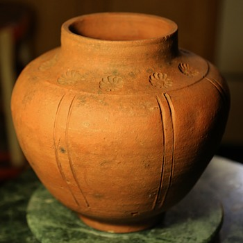 Arts & Crafts Unglazed Pot - Pottery