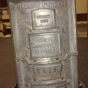 Mellow furnace salesman's sample - Advertising