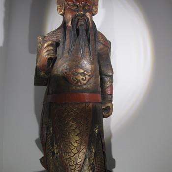 Bob Hope . . . Wood Carving - Asian