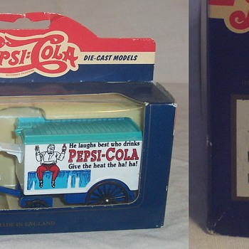 'Pepsi' die cast collectables! - Model Cars