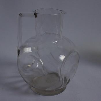 Dimpled Jug - Glassware