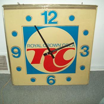 Rc cola clock need info - Clocks