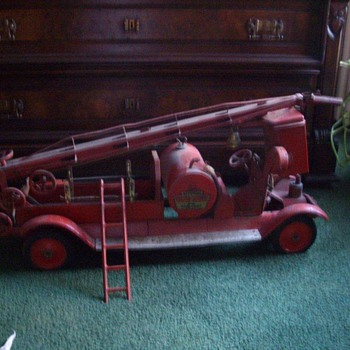 Large Antique Fire Trucks