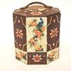 "Octogonal Tin Biscuit Box""1930-40"""