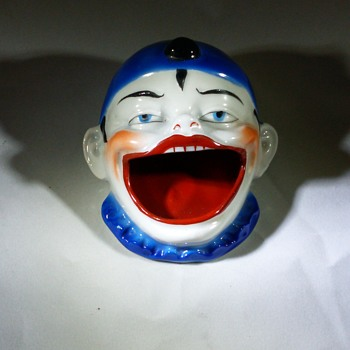 Germany Pierrot Clown Ash tray - Pottery