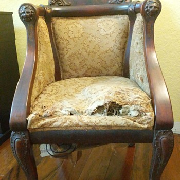 A chair I plan to restore but would like to know about it