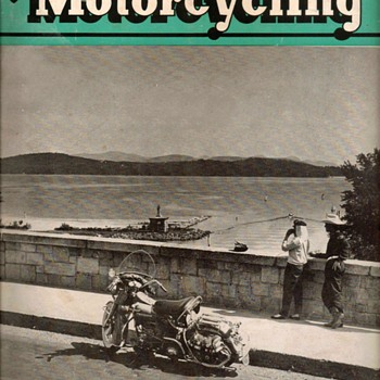 "1956 - ""American Motorcycling"" Magazine - Paper"