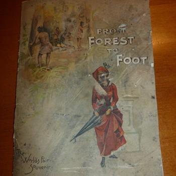 1890 World's Fair Souvenir Book