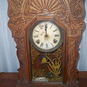 Antique Sessions Clock - Clocks