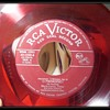 Old - RED COLORED 45 rpm Vinyl Records with original RCA Booklet
