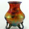 Imperial Free Hand Line Leaf & Vine Loop Foot Vase
