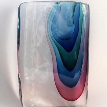 Sasso vase by Antonio De Ros for Cenedese circa 1960 - Art Glass
