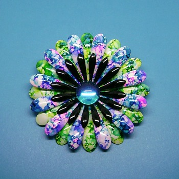 Flower Pin - Costume Jewelry