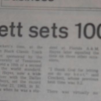 Ivory Crockett - The World's Fastest Man! - Sporting Goods
