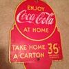 1930's Coca-Cola Rack Sign