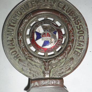 Early RACQ Bumper Bar Emblem