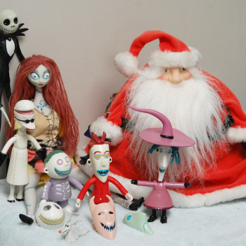 The Nighmare Before Christmas film (Tim Burton) 1993_Character Figurines - Christmas