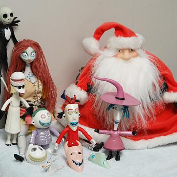 The Nighmare Before Christmas film (Tim Burton) 1993_Character Figurines - Christmas