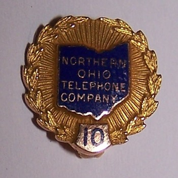 Northern Ohio Telephone Pin