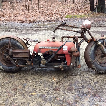 Tractorcycle Tractorbike Farmall Cub tractor - Motorcycles