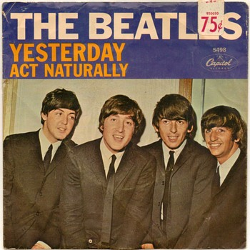 "45rpm Record - ""The Beatles"" (1965)"