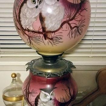 Grandma's owl lamp - Lamps