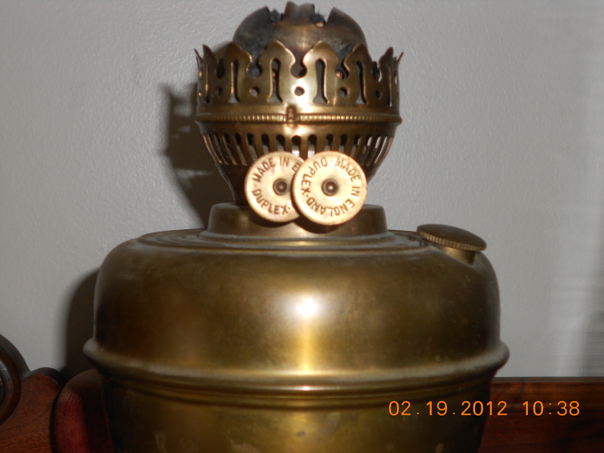Duplex Double Wick With Snuffer Oil Lamp Collectors Weekly
