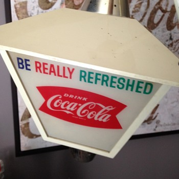 Coca-Cola Lantern - Coca-Cola