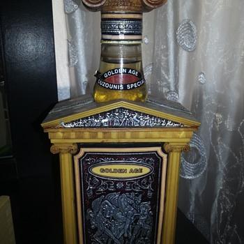 Ouzounis Golden age ouzo - Bottles
