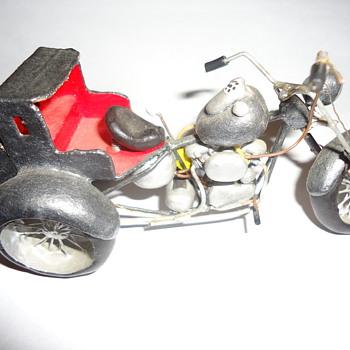 hand made harley Davidson motorcycle. - Motorcycles