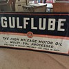 GULFLUBE sign.  Circa 1960 or before