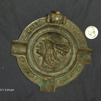 1928 ash tray oakland foundry